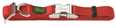 Hunter Halsband Vario Basic Alu-strong rood