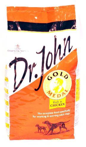 Afbeelding van Dr John Gold 15kg Hondenvoer Droogvoer