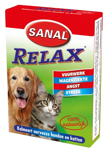 Sanal Dog/cat Relax Kalmeringstablet