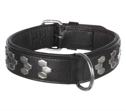 Trixie Active Halsband met Applicaties Zwart: 65-75cm - 40mm