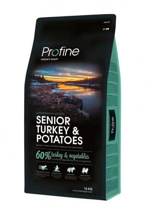 Profine Senior Kalkoen & Aardappel 15kg