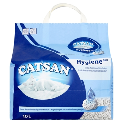 Catsan Hygiene Plus 10 Ltr