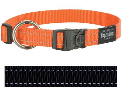 Rogz For Dogs Fanbelt Halsband Zwart