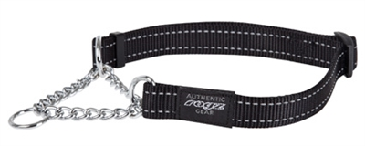 Rogz For Dogs Fanbelt Choker Zwart