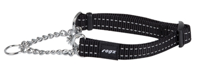 Rogz For Dogs Snake Choker Zwart