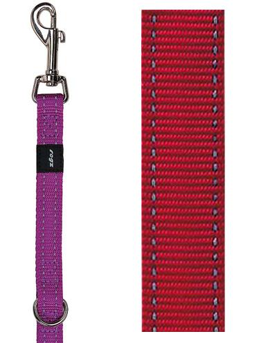 Rogz For Dogs Snake Multipurpose Lijn Rood