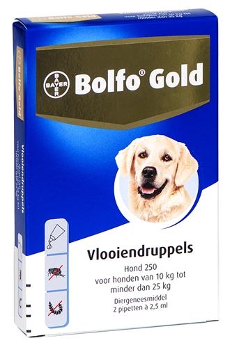 Bolfo Gold Hond 250
