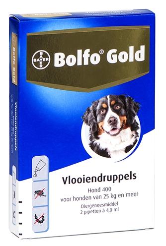Bolfo Gold Hond 400 2 pip (> 25kg)