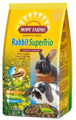 Hope Farms Rabbit Supertrio