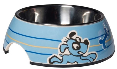 Rogz For Dogs Bubble Bowl Blauw 160 Ml