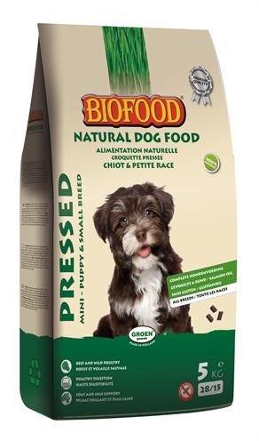 Afbeelding van Biofood Geperst Puppy & Kleine Rassen 5kg Hondenvoer Droogvoer