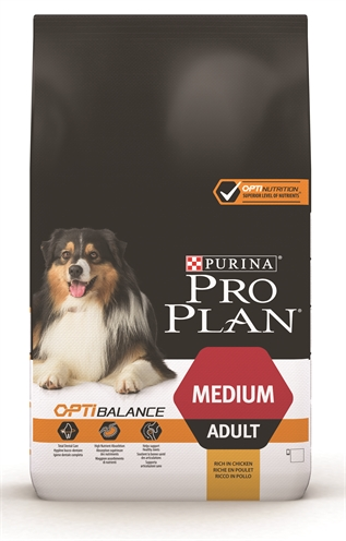 Pro Plan Dog Adult Medium Kip&Rijst