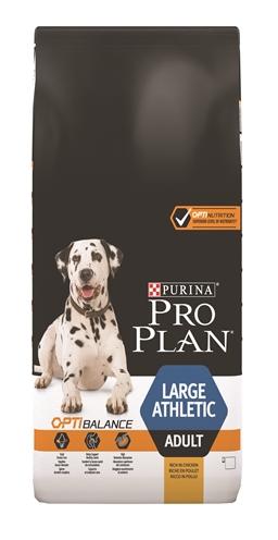 Afbeelding van 14 kg Pro Plan dog Large Athletic Adult actie...