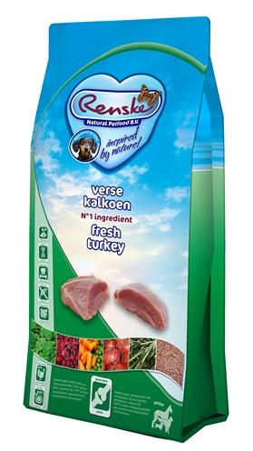 Afbeelding Renske Super Premium Senior Graanvrij Verse Kalkoen 2 kg door Discount4Pets