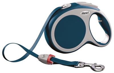 Flexi Rollijn Vario Tape Blauw L 8 Mtr