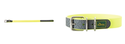 Hunter Halsband Convenience Neon Geel