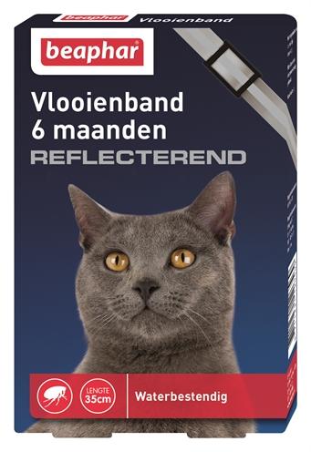 Beaphar Diagnos Vlooienband Reflecterend Kat
