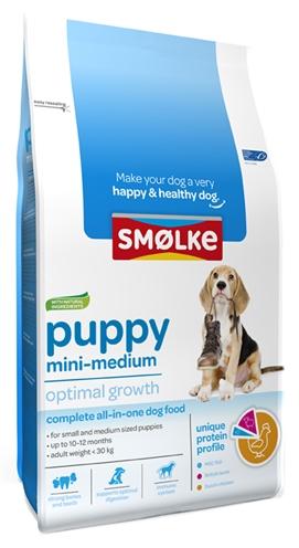 Afbeelding van 12 kg Smolke Puppy Mini Medium...