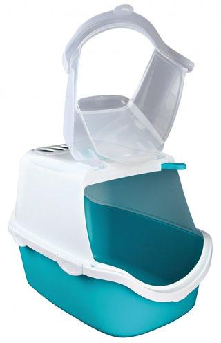 Trixie Kattenbak Vico Easy Clean Aqua/Wit 40x40x56cm