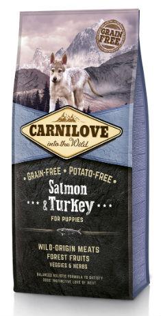 Afbeelding van 12 kg Carnilove Puppy Salmon / Turkey (Tijdelijke actie)...