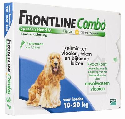 Frontline Hond Combo Medium