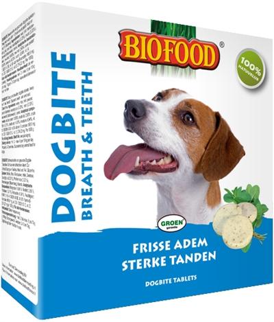 Afbeelding van Biofood Dogbite Hondensnoepje Naturel 55st.