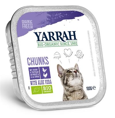 Yarrah Cat Kuipje Brokjes Kip/Kalkoen