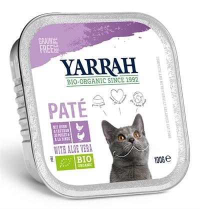 Yarrah Cat Kuipje Pate Kip/Kalkoen Aloe Vera