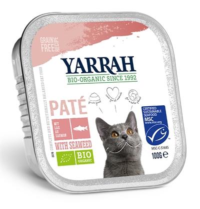 Yarrah Cat Kuipje Pate Garnaal/Zalm Omega 3/6