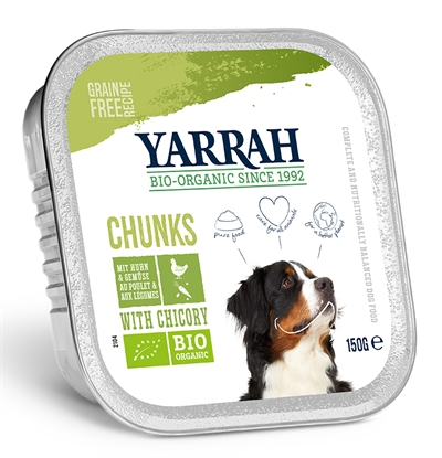 Yarrah Dog Kuipje Brokjes Kip/groente