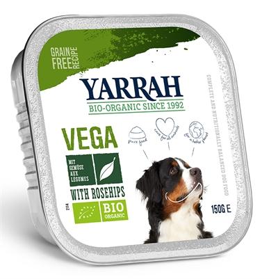 Yarrah Dog Kuipje Pate Vegetarische Brokjes Met Groente