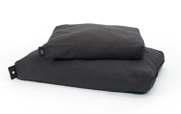 Afbeelding van 51Degrees Cotton Box Pillow Donkergrijs Large 115x80x15cm