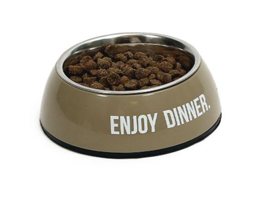 Afbeelding van 51Degrees Dinner Bowl Singel Taupe 350ml