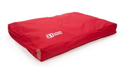 Afbeelding van 51Degrees 51 Degrees Storm Box Pillow Rood 115x80x15cm
