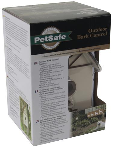 Petsafe Outdoor Bark Control voor honden pbc19-11794 Outdoor Bark Control