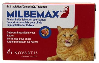 Milbemax Grote Kat 4st.