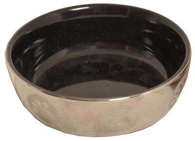 Boon Kattendrinkschotel Royal Zilver/zwart