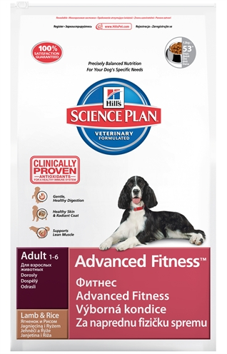 Hill's Science Plan Canine Adult Advanced Fitness Lam/rijst