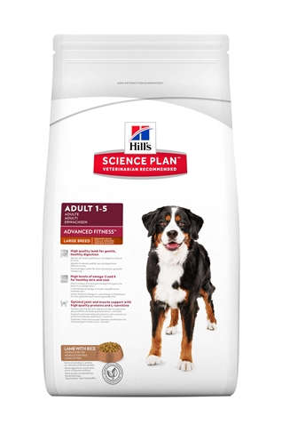 Hill's Science Plan Canine Adult Advanced Fitness Large Breed Lam/rijst