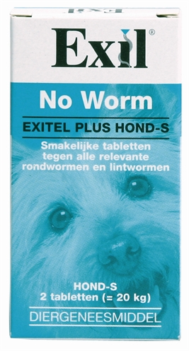 Exil Hond No Worm Tabletten