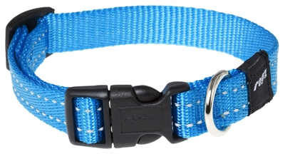Rogz For Dogs Snake Halsband Turquoise