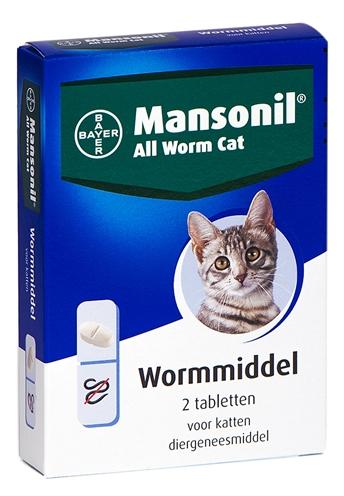 Mansonil Kat All Worm Tabletten