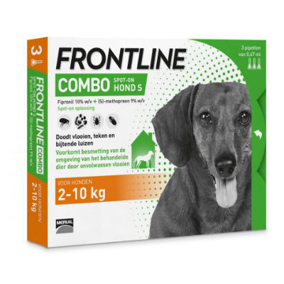 Frontline Hond Combo Small