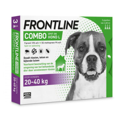 Frontline Hond Combo Large