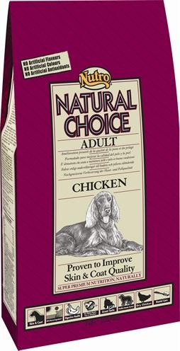 Nutro Choice Dog Adult Kip/rijst