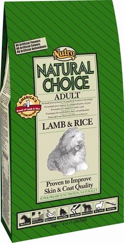 Afbeelding van 12 Kg Nutro Choice Dog Adult Lam/Rijst actie...