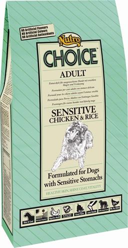 Nutro Choice Dog Sensitive Kip