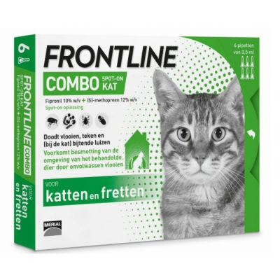 Afbeelding Frontline Combo Spot on Kat 6 pipetten door Discount4Pets