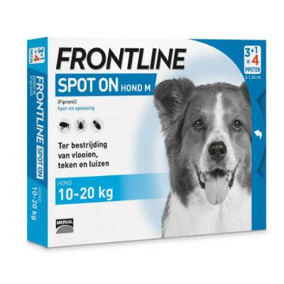 Frontline Spot on Hond M 4 pipetten