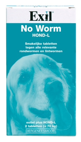 Exil Hond No Worm Tabletten